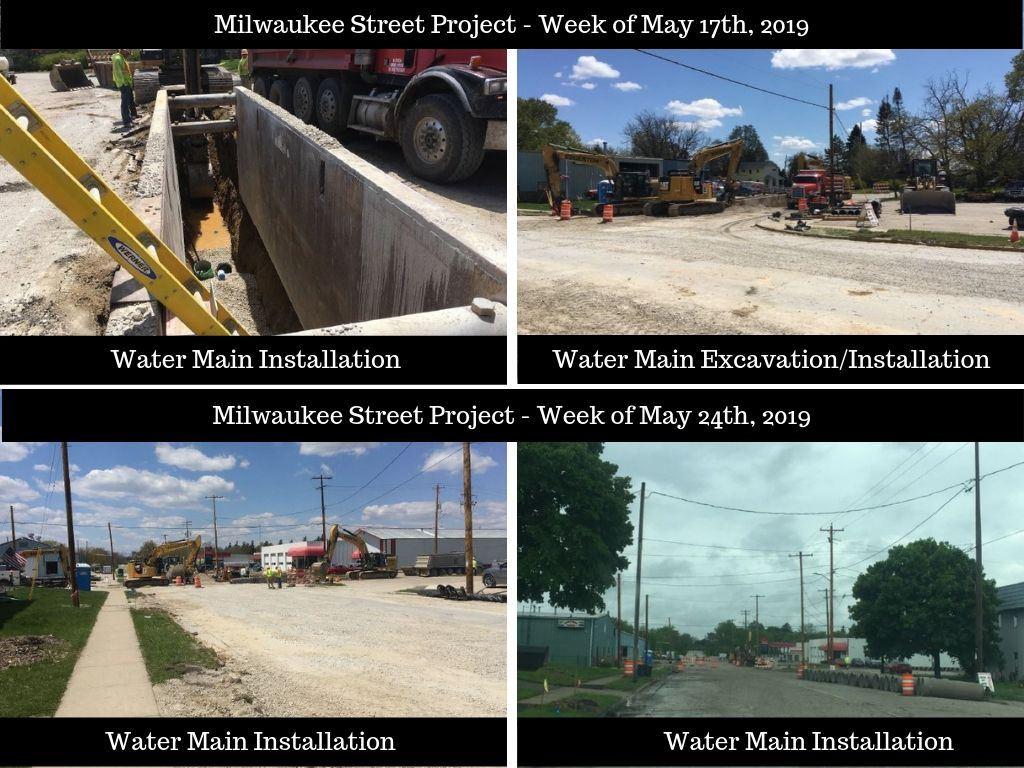 Milw Street Updates May