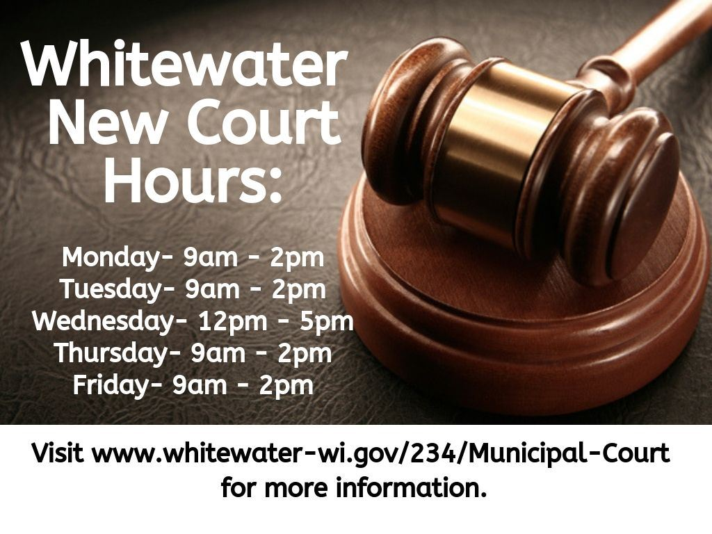 New Court Hours