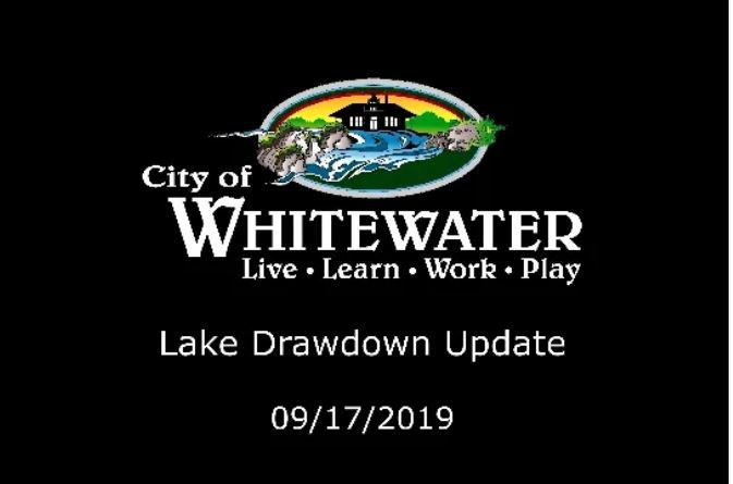 Lake Draw Down Video Image