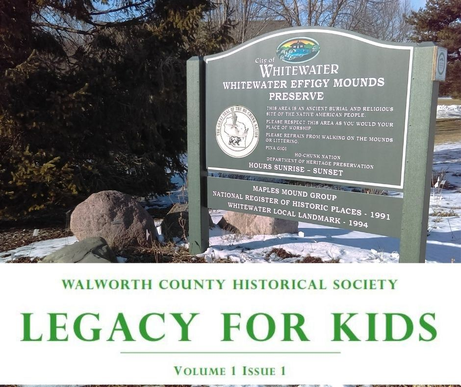 Legacy For Kids Effigy Mounds