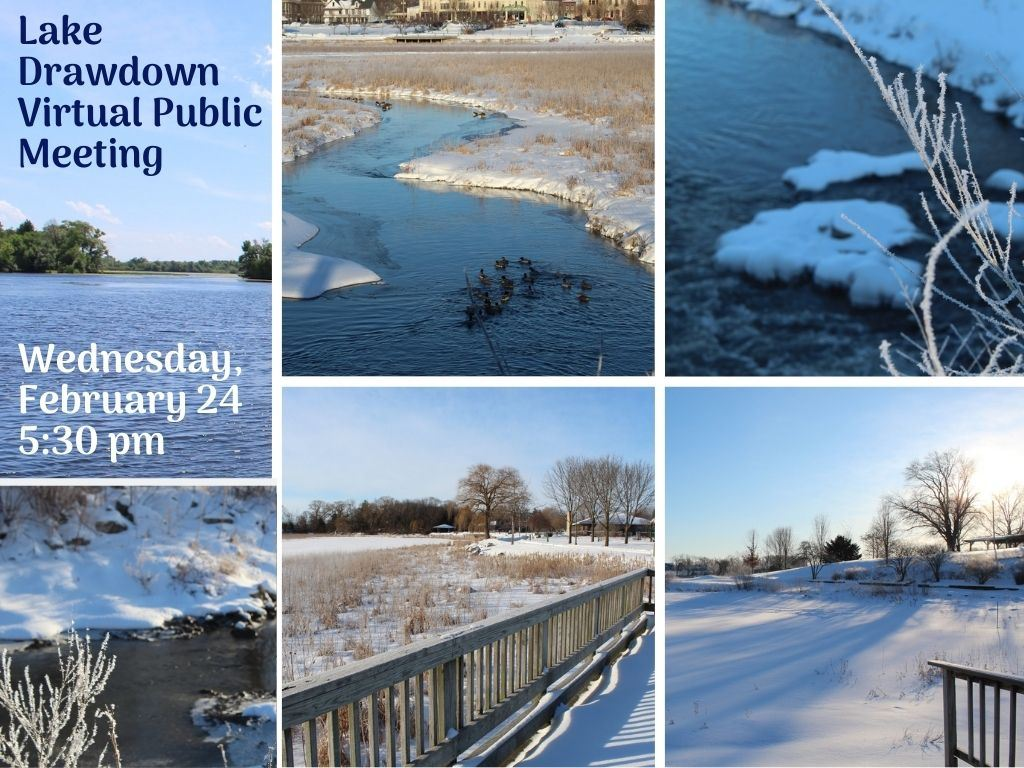 Lake Drawdown Public Meeting Feb 24