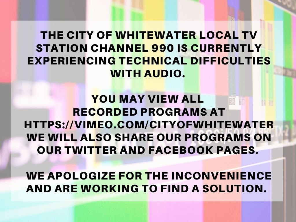 TV Sound Technical Difficulty