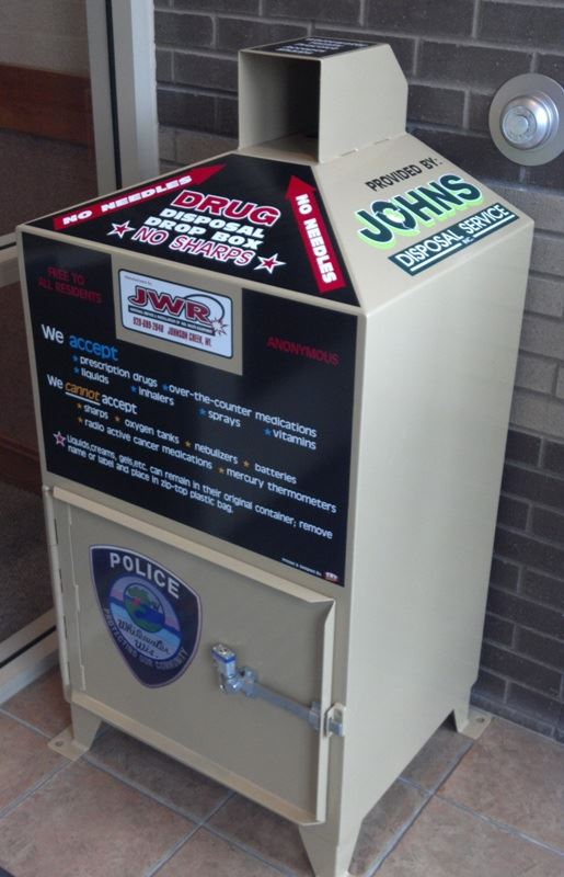Drug Drop Box