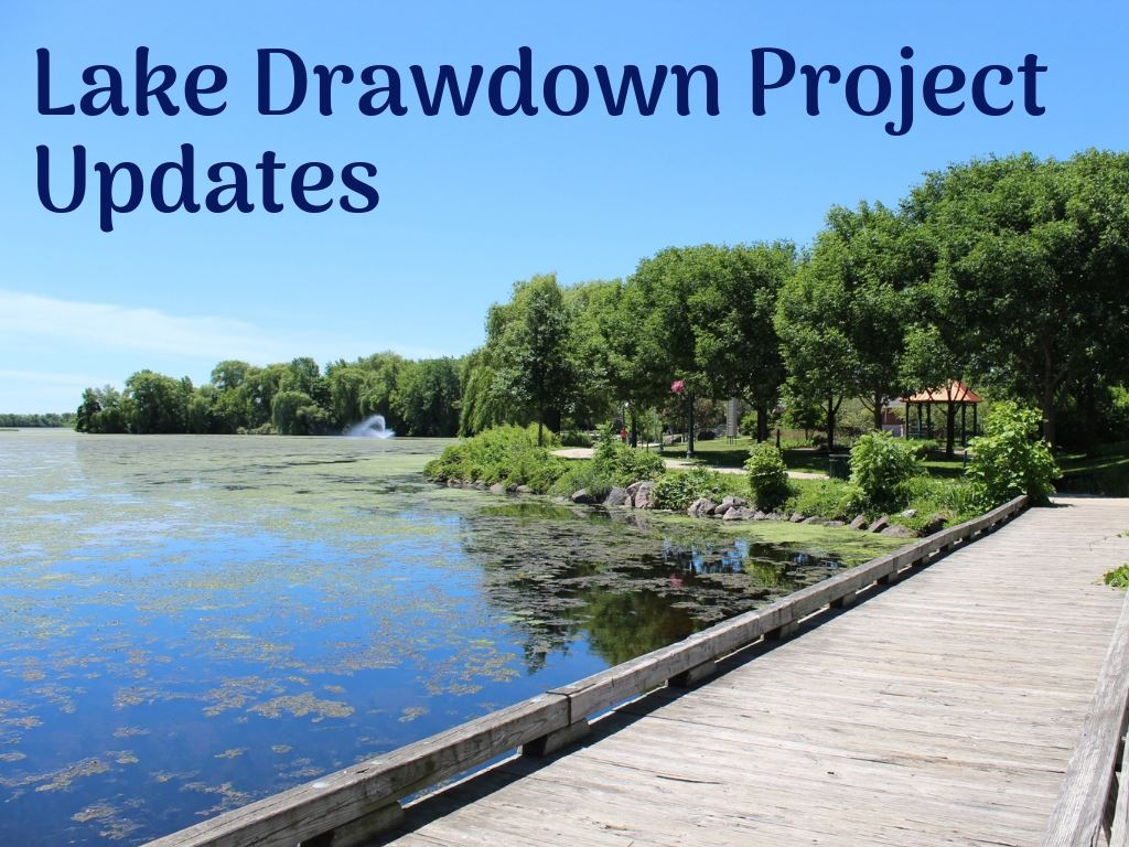 Lake Draw Down Updates