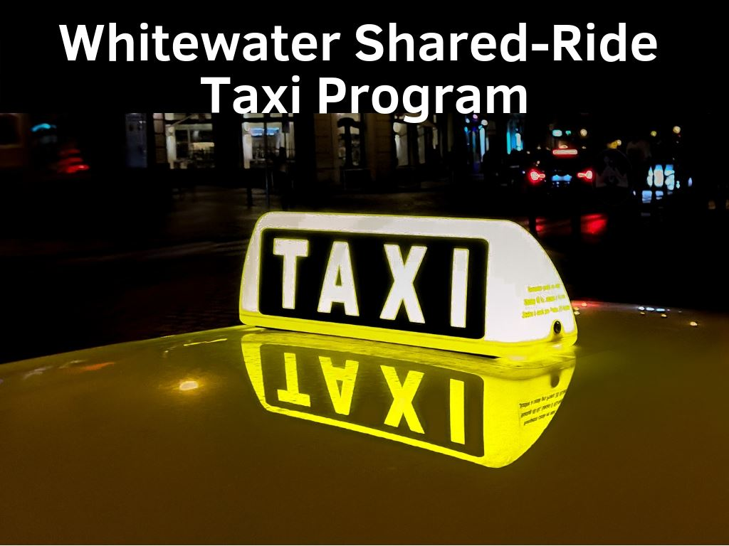 Whitewater Shared-Ride Taxi Program