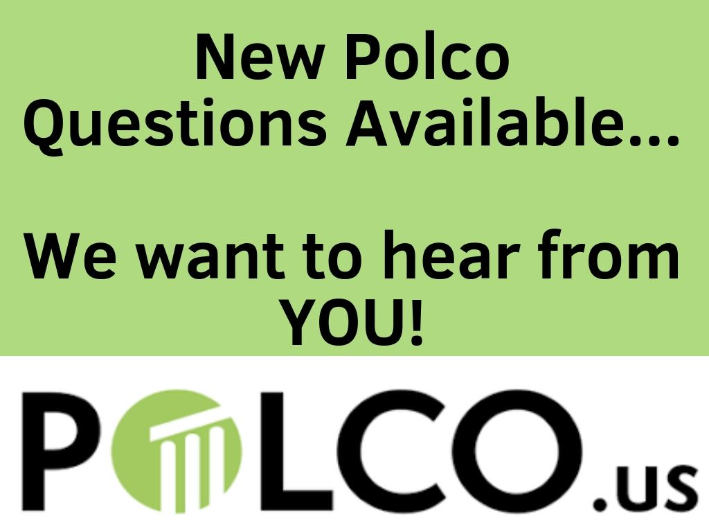 New Polco Questions