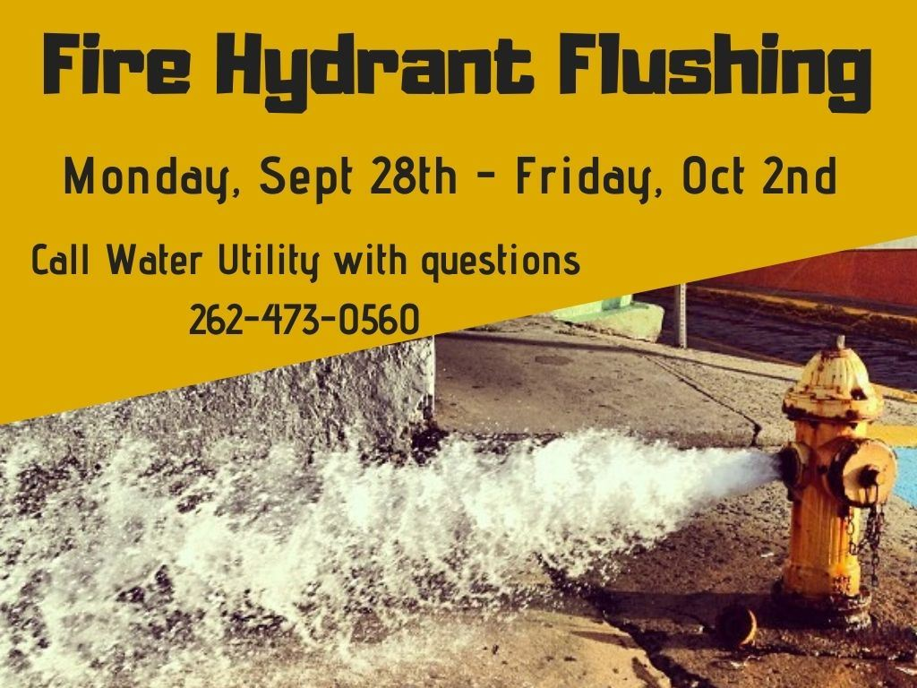 2020 Fall Fire Hydrant Flushing